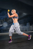 Boxing  exercice Stock Images