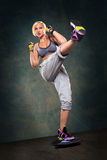 Boxing  exercice Royalty Free Stock Photo