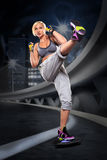 Boxing  exercice Stock Photos