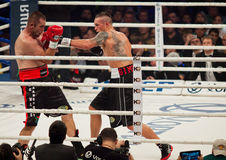Boxing fight Oleksandr Usyk vs Danie Venter Stock Image