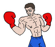 Boxing fighter Stock Images