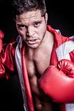 Boxing Fighter Man stock image