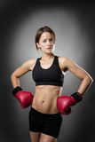 Boxing fit Royalty Free Stock Photos