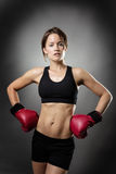 Boxing fit Stock Photos