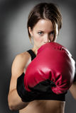 Boxing fit Royalty Free Stock Photo
