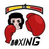 Boxing game Royalty Free Stock Photos