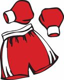 Boxing Gear Royalty Free Stock Image