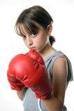 Boxing Girl Royalty Free Stock Image