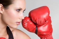 Boxing Girl Royalty Free Stock Photos