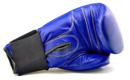 Boxing Glove blue Royalty Free Stock Photo