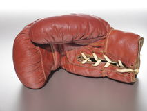 Boxing Glove I. Inside of a used boxing glove Stock Photos