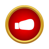 Boxing glove icon, simple style Stock Image