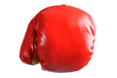 Boxing glove isolated Stock Photos