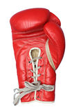Boxing glove. Isolated on white Royalty Free Stock Photography