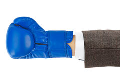 Boxing glove. Isolated on white background Stock Images