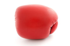 Boxing glove isolated on white front view Royalty Free Stock Photography