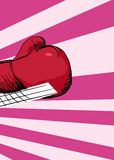 Boxing Glove Punching Stock Images