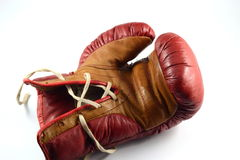 Boxing glove. Used an old boxing glove Royalty Free Stock Image