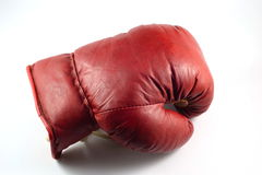 Boxing glove. Used an old boxing glove Stock Image