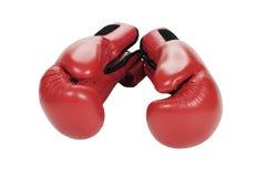 Boxing gloves. Boxing gloves on white background Stock Photo