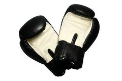 Boxing gloves. Original Thai Boxing Gloves from Thailand Stock Photos