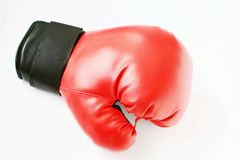 A boxing gloves Royalty Free Stock Image