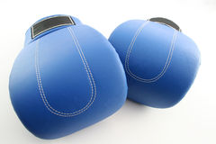 Boxing gloves. On a white background stock photography