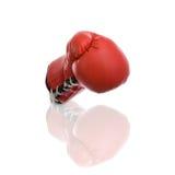 Boxing gloves. Shiny Boxing Gloves on white background Royalty Free Stock Photography