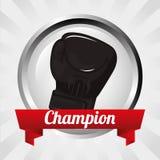 Boxing gloves design Stock Images