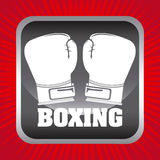 Boxing gloves design Stock Photography