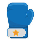 Boxing gloves equipment icon Stock Image