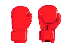 Boxing gloves illustration Royalty Free Stock Photo