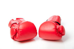 Boxing gloves isolated Stock Photo