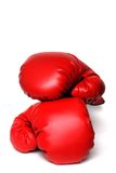 Boxing gloves isolated Stock Photography