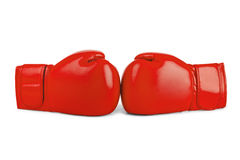Boxing gloves. Isolated on white background Royalty Free Stock Images