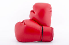 Boxing gloves isolated on white Royalty Free Stock Image