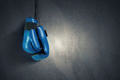 Boxing gloves Stock Photo