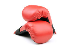Boxing gloves for punching bag Stock Image