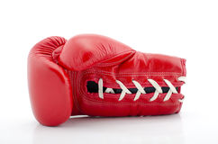 Boxing gloves with white blackground Stock Photography