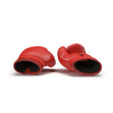 Boxing gloves  on white 3D Illustration Royalty Free Stock Photos