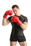 Boxing guard Stock Images