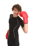 Boxing guy Stock Image