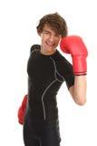 Boxing guy Stock Image