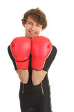 Boxing guy Stock Photography