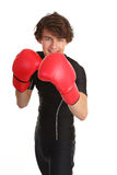Boxing guy Stock Photo