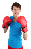 Boxing guy Royalty Free Stock Images