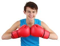 Boxing guy Stock Photos
