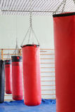 Boxing hall Royalty Free Stock Photos