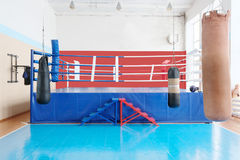 Boxing hall Royalty Free Stock Photography