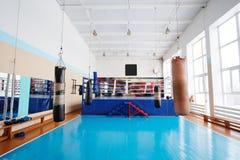 Boxing hall Royalty Free Stock Photo
